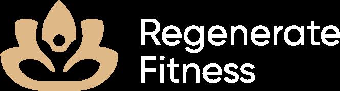 Regenerate fitness logo gold